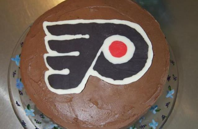 Team Logo Birthday Cake Create A With Chocolate Melts And Waxed Paper Print Out The Backwards Put Sheet Of Wax Over It