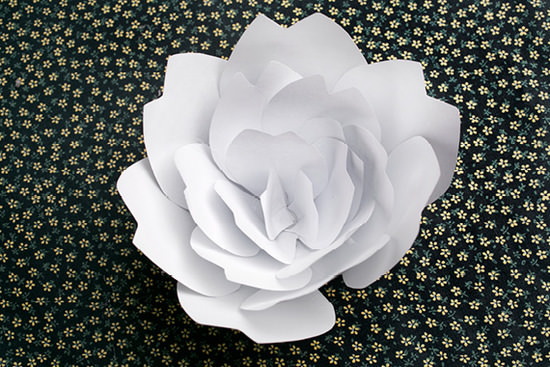 38 how to make paper flower tutorials so pretty tip junkie how to make a paper flower mightylinksfo