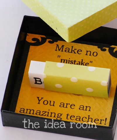 "Make no ""mistake"" Teacher Gift"