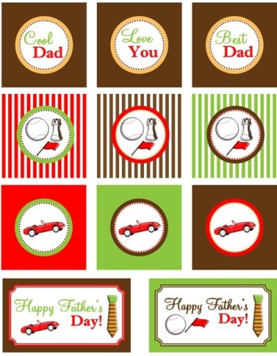 Printable Father's Day Crafts