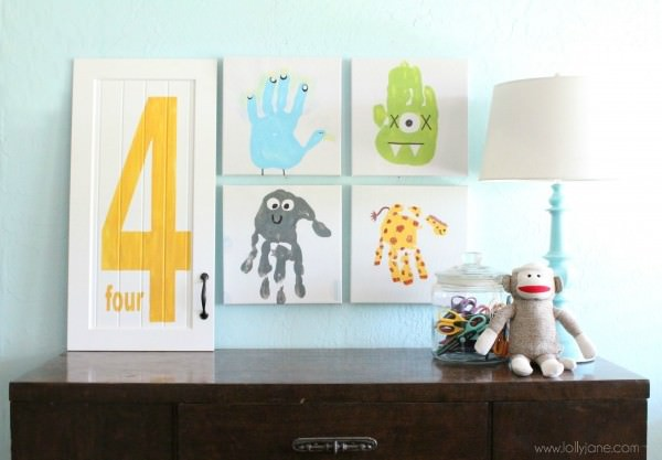 Handprint Art {Art Projects}