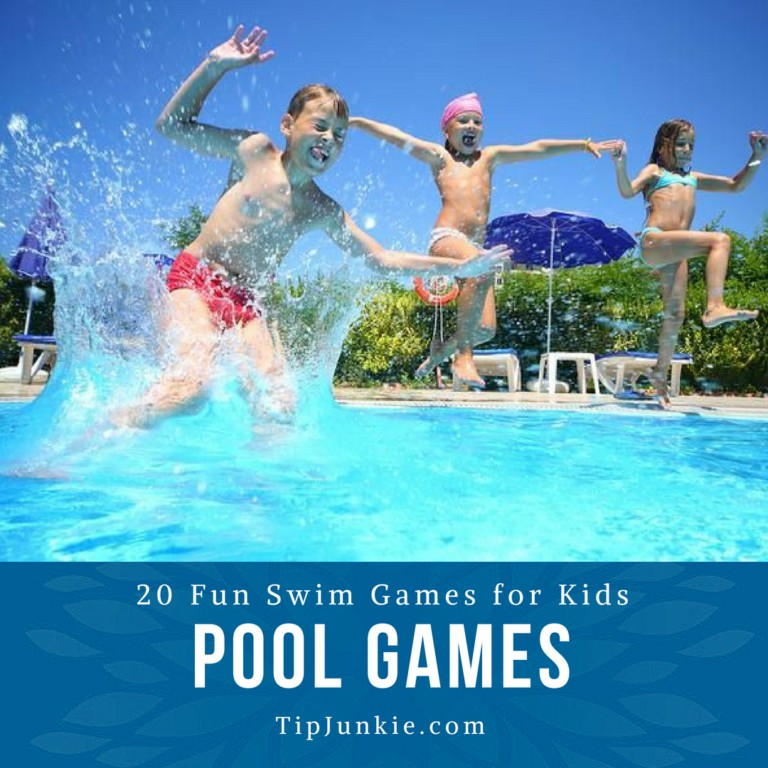 20 Fun Swimming Pool Games for Kids on Tip Junkie
