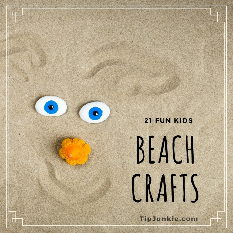 21 Fun Beach Crafts for Kids on Tip Junkie