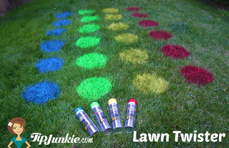 How to Make Lawn Twister on Tip Junkie