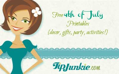 Free 4th of July Printables {decor, gifts, party, activities!}