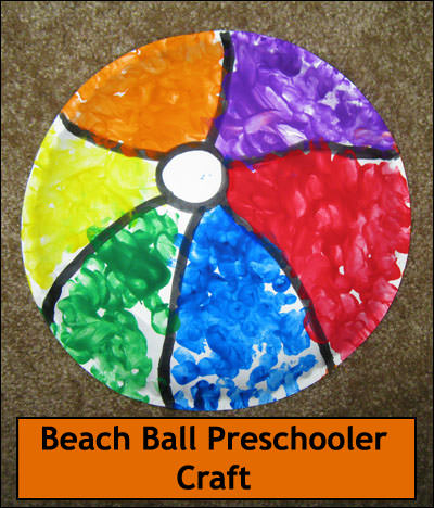Beach Ball Craft
