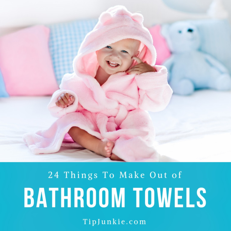 24 Things to Make out of Bathroom Towels