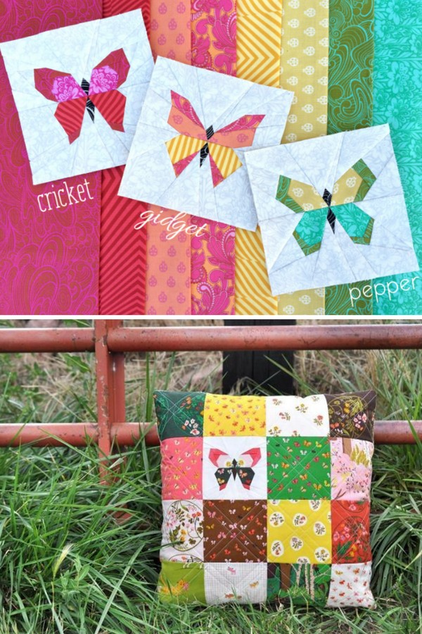Butterfly Block Quilt Pattern Free