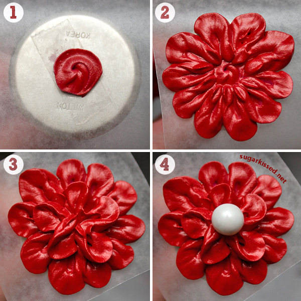 Easy, Stunning, Dimensional Icing Flowers 2
