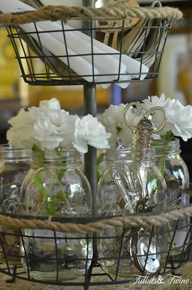 A French Farmhouse Industrial Centerpiece Tip Junkie