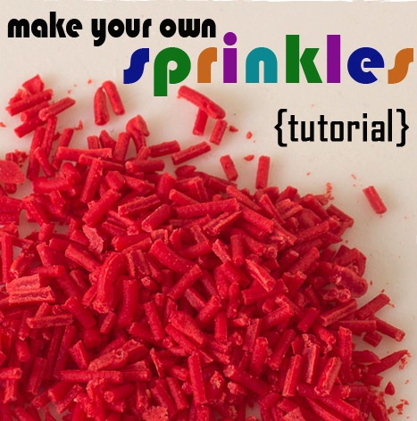 How to Make Sprinkles