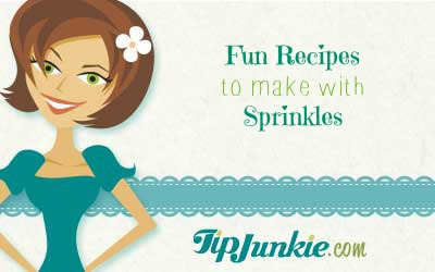 Fun Recipes to Make with Sprinkles