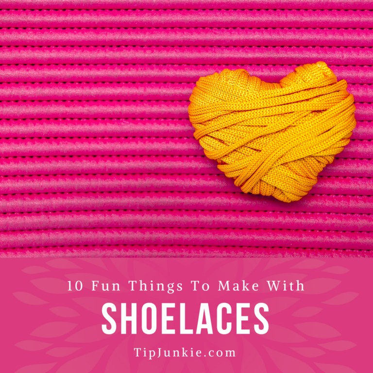Things to Make with Shoelaces on Tip Junkie