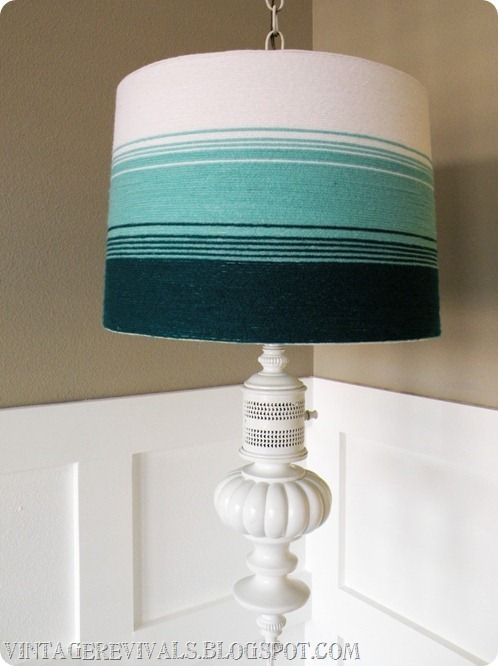 22 Pretty Ways To Makeover Lamp Shades