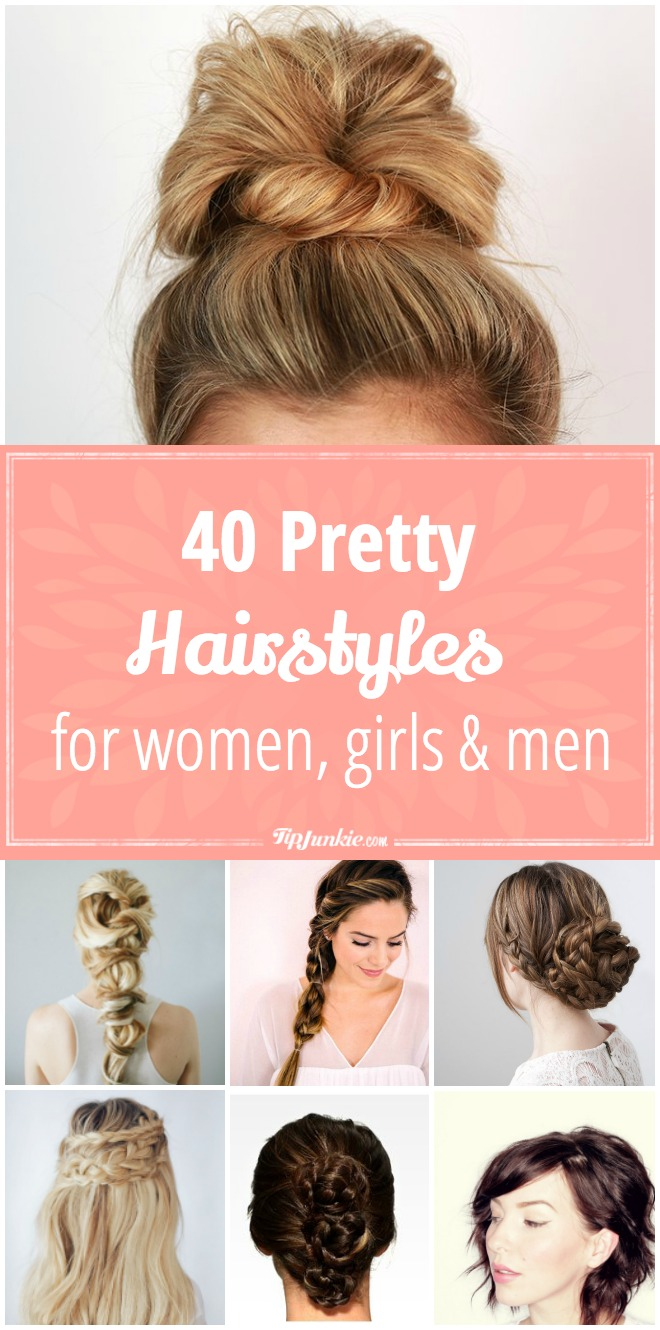 Pretty Hair Style tutorials that are super on-trend.