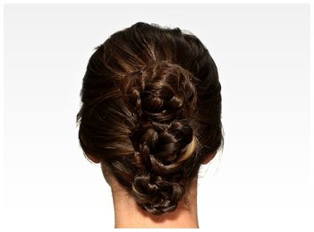Braided Bun Up-do