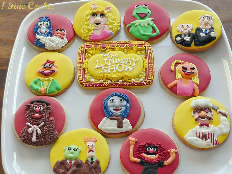 The Muppet Show Cookies by 1 Fine Cookie