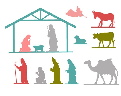 Nativity Printable Template