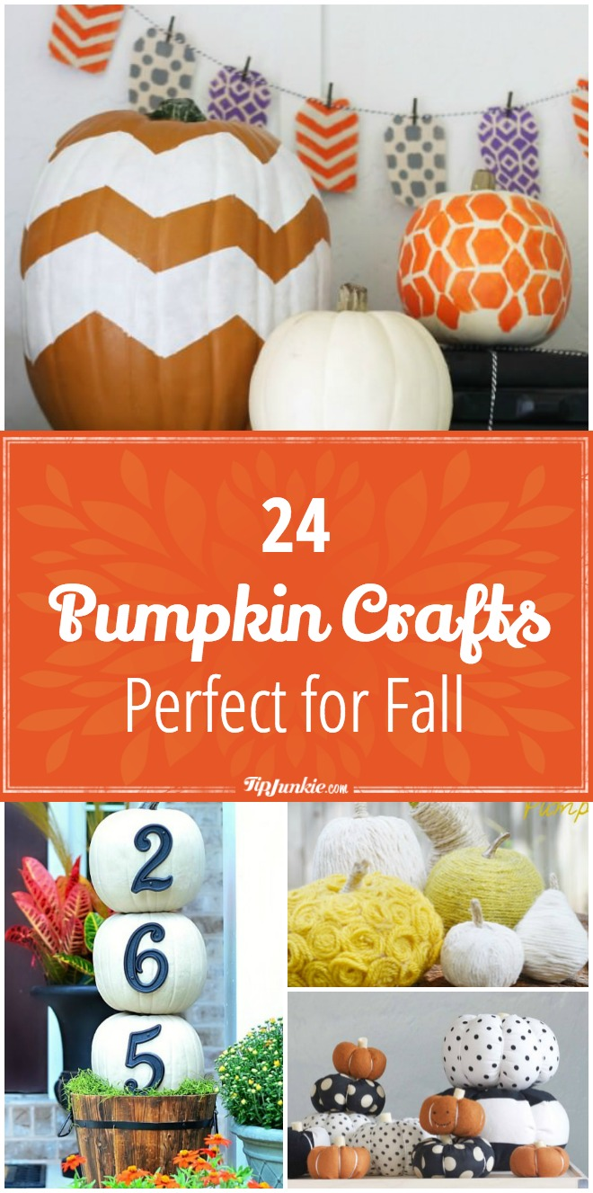 24 Pumpkin Crafts Perfect for Fall