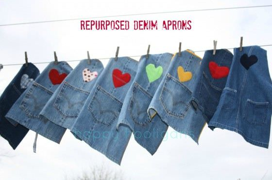 Recycled Denim Crafts