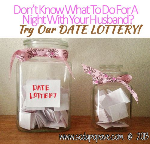 Date Lottery Banner