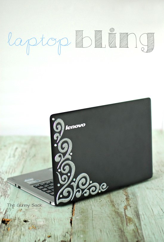 DIY Laptop Bling