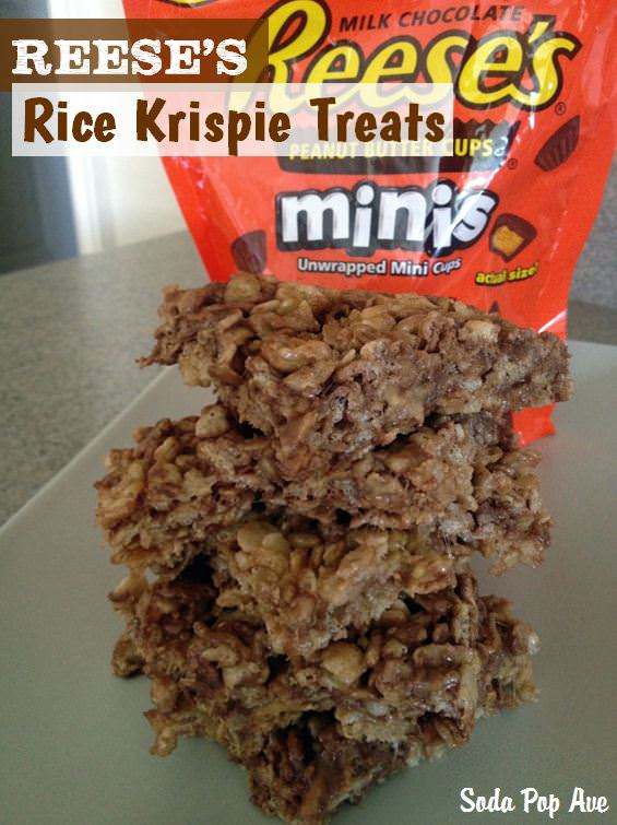 Reeses Rice Krispie Treats Banner