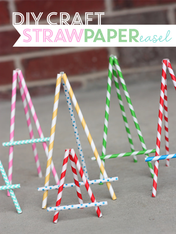 18 Crafty Ways To Decorate With Paper Straws Tip Junkie