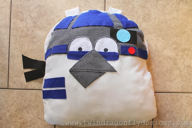 Angry Bird Star Wars R2D2 Costume (1)_thumb
