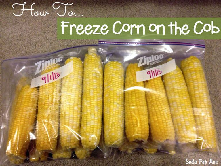 How to Freeze Corn on the Cob Banner