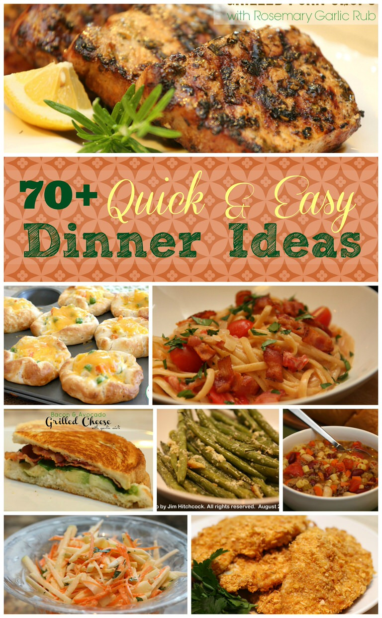 Meal Planning and Quick Dinner Ideas It's a Keeper