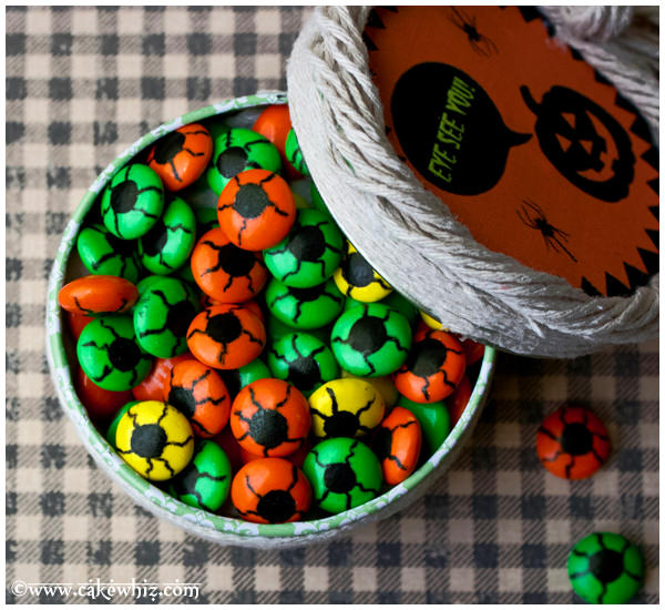 halloween eyeball candies