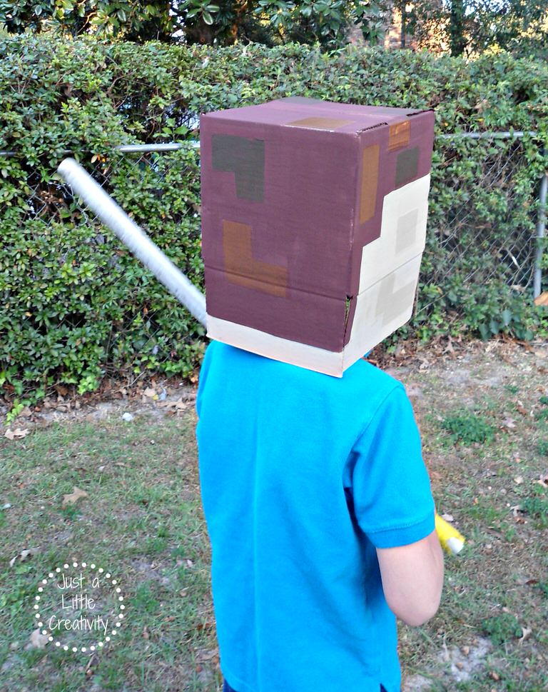 minecraft costume back
