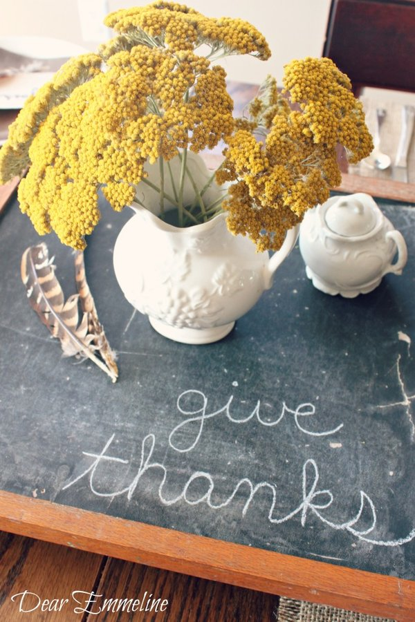 Fall Thanksgiving centerpieces