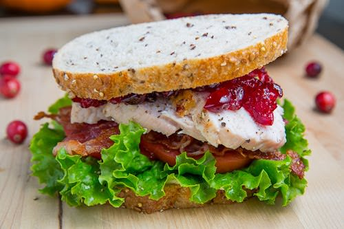 Roast Turkey Club Sandwich with Cranberry Sauce 500 2776-jpg