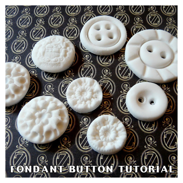 Rolled Fondant Buttons
