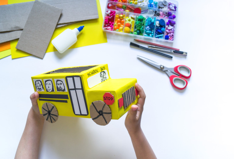 Kids DIY valentine box ideas for school