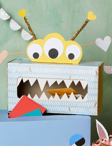 little monster tissue valentine box