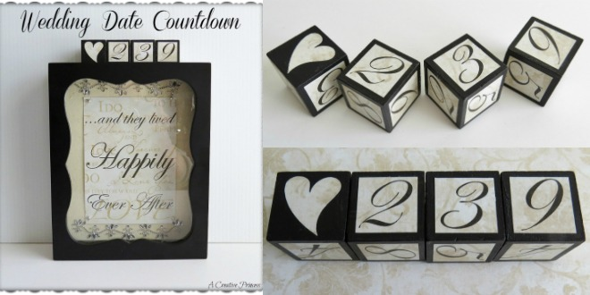 DIY Wedding Count Down Gift to Make