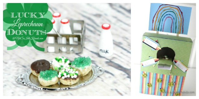 Lucky Leprechaun Donuts with Tricky Leprechaun Traps