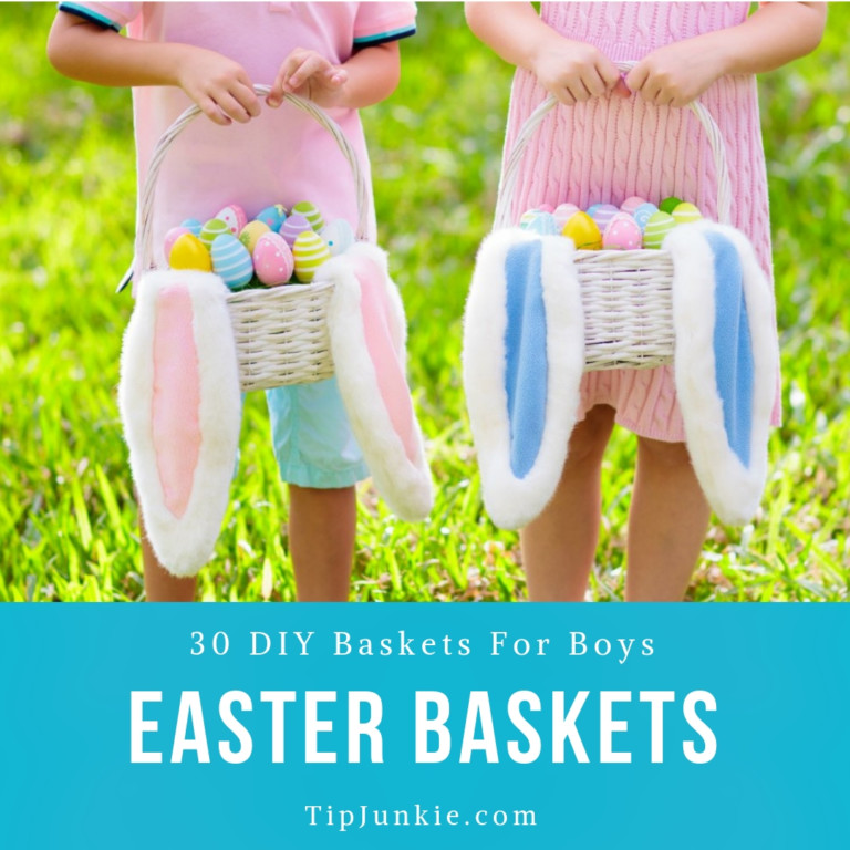 30 DIY Easter Baskets for Boys to Make