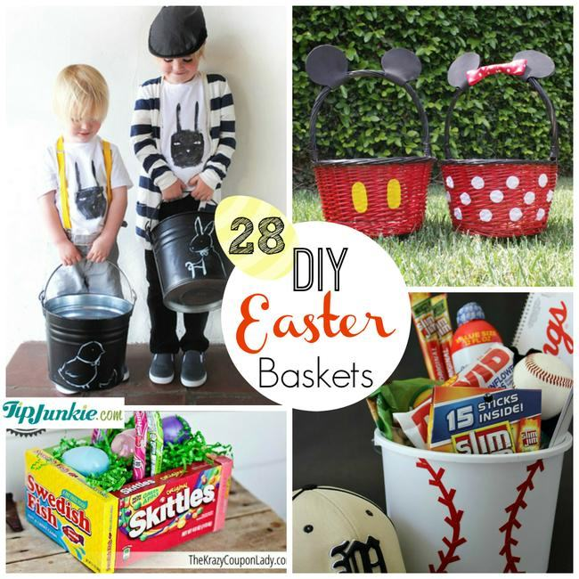 DIY Easter basket ideas for boys to make