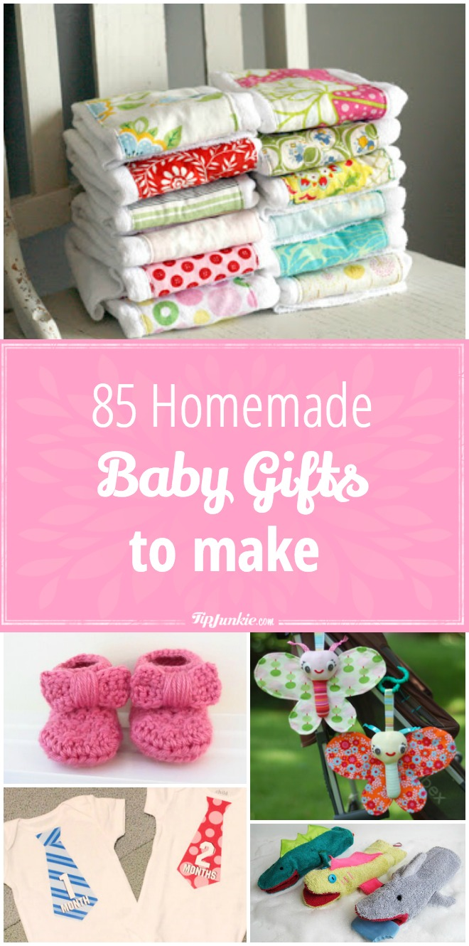 85 Homemade Gifts to Make for Baby!