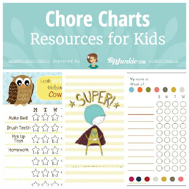 70 Fab Resources For Kids Food Chores Worksheets Tip