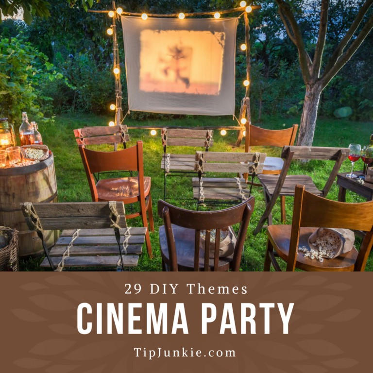 29 DIY Cinema Themed Parties