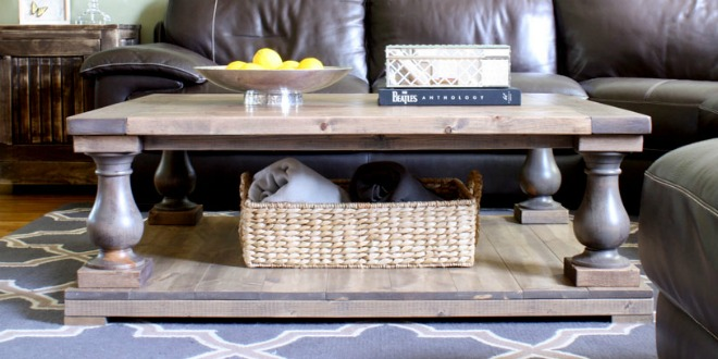 Restoration Hardware DIY Coffee Table Download Plans