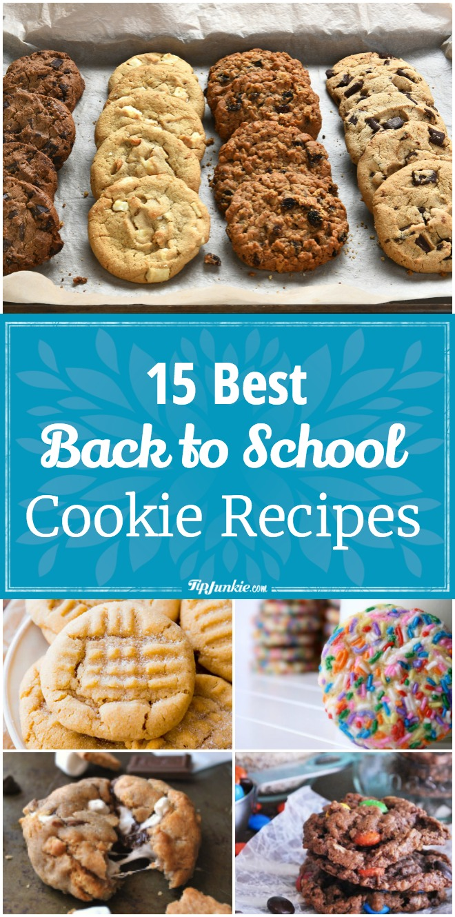 15 Yummy back to school cookie recipes your kids will love!