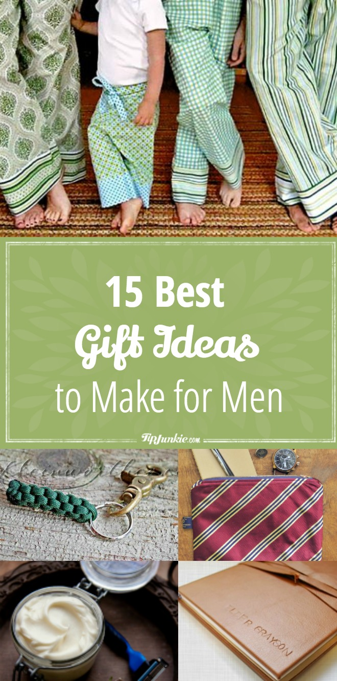 15 Best Gift Ideas to Make for Men