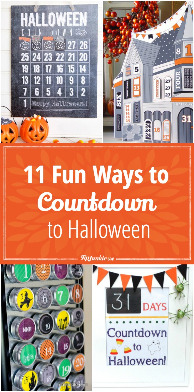 11 Fun Ways to Countdown to Halloween