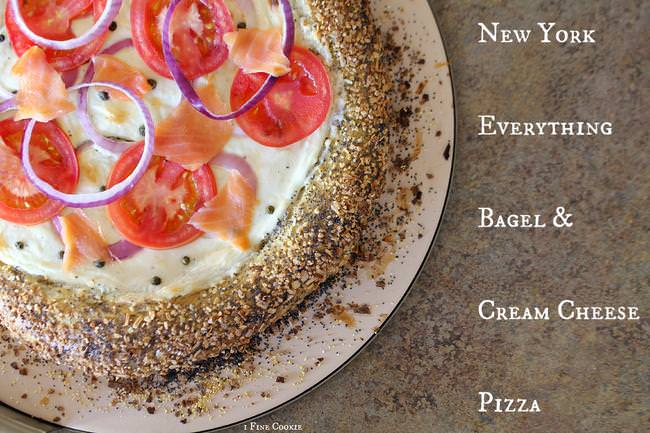 New York Everything Bagel and Cream Cheese Pizza by 1 Fine Cookie-jpg
